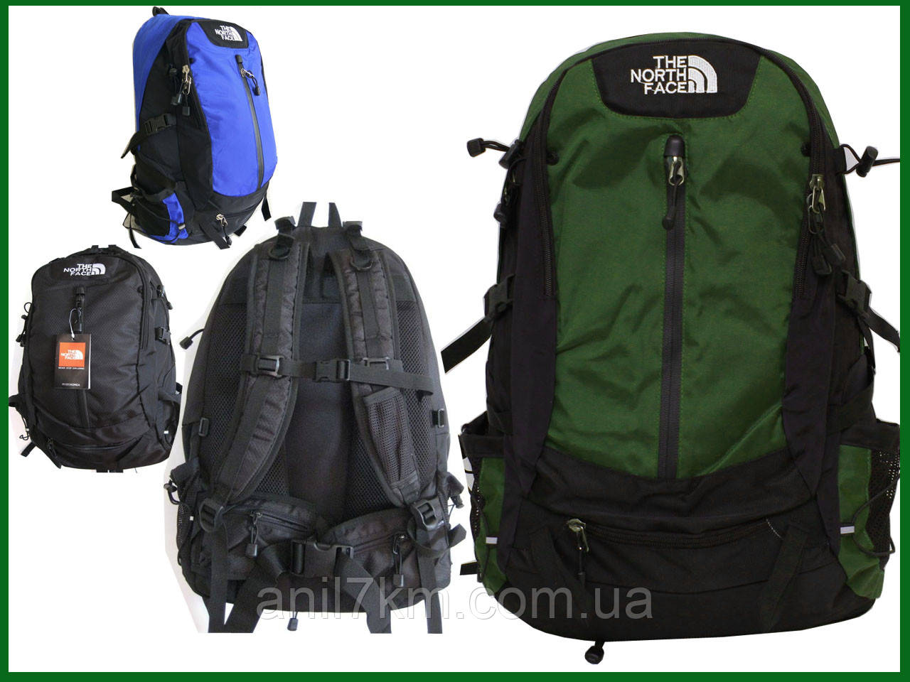 Туристичний рюкзак обсягом 40-45л.фірми THE NORTH FACE