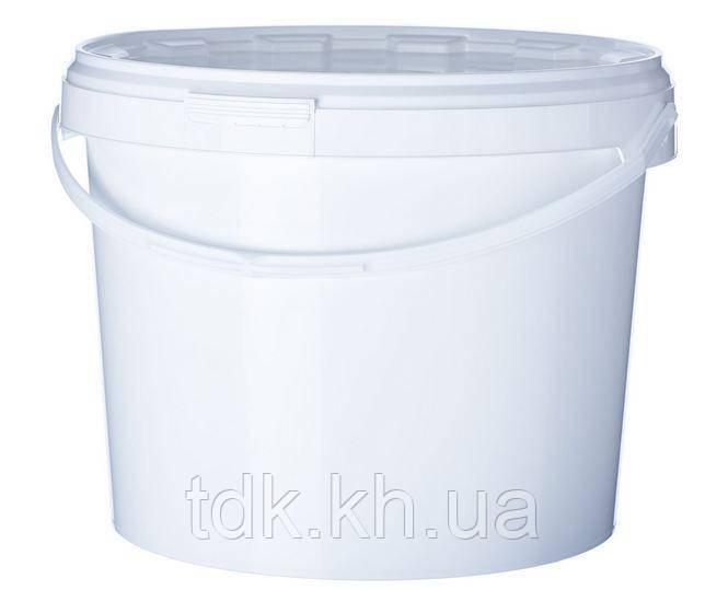 Відро пластикове з кришкою 3,4 л