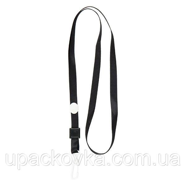 Шнурок для бейджа с карабином Axent 4531-01-A, черный