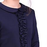 Вільний шкільне плаття з довгим рукавом для дівчинки 122-152р, фото 4