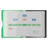 Дисплей-книга Axent 1220-09-A 20 файлов, A5, салатовая, фото 2