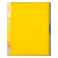 Дисплей-книга Axent 1120-08-A 20 файлов, желтая
