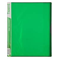 Дисплей-книга Axent 1120-09-A 20 файлов, салатовая