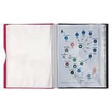 Дисплей-книга Axent 1140-10-A 40 файлов, розовая, фото 2