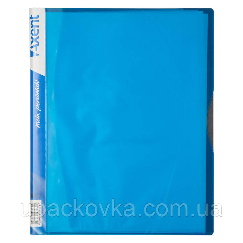 Дисплей-книга Axent 1140-07-A 40 файлов, голубая