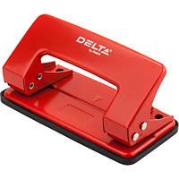 Дырокол металлический Delta D3510-06, 10 листов, красный