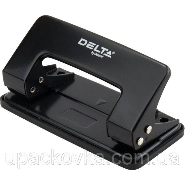Дырокол металлический Delta D3510-01, 10 листов, черный