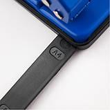 Дырокол металлический Delta D3520-02, 20 листов, синий, фото 3