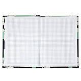 Книга записная Axent Touch 8432-05-А, твердая обложка, А5, 120 листов, клетка, фото 5