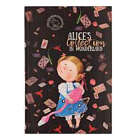 Книга записная в интегральной обложке Axent Alice 8436-02-A, B5, клетка, фото 1