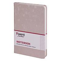 Книга записная Axent Partner Jazz 8207-34-A 125х195, 96 листов, клетка, золотая, фото 1