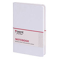 Книга записная Axent Partner Jazz 8207-21-A 125х195, 96 листов, клетка, белая, фото 1