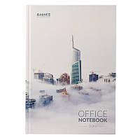 Книга записная Axent Dubai 8423-23-A в твердой обложке, А4, 192 листа, клетка, фото 1