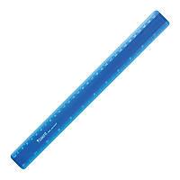Линейка пластиковая Axent 7530-02-A, 30 см, синяя