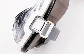 Маска для сноркелінгу TheNice EasyBreath-III M2101 на все обличчя для дайвінгу  L/XL Біло-чорний (SU, фото 2