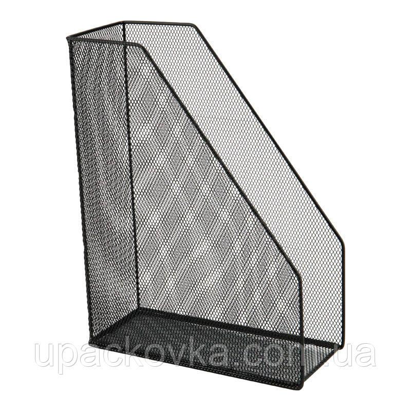 Лоток вертикальный металлический Axent 2120-01-A, 100x250x320 мм, черный
