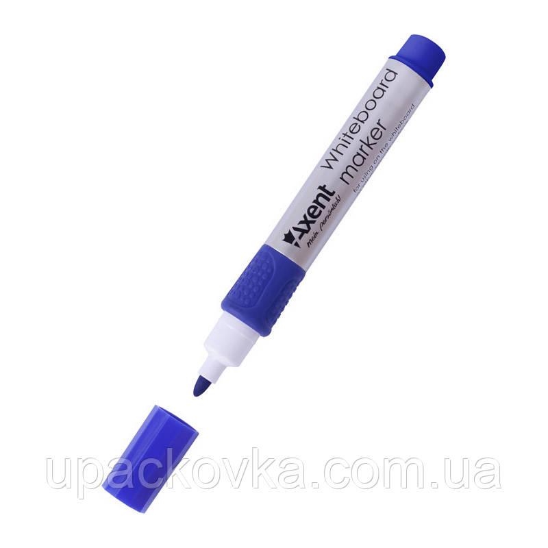 Маркер Axent Whiteboard 2551-02-A, 2 мм, круглый синий