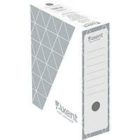 Бокс архивный Axent 1732-03-A 100 мм, серый