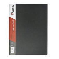 Папка с прижимом Axent 1301-01-A, А4, с внутренним карманом, черная