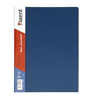 Папка с прижимом Axent 1301-02-A, А4, с внутренним карманом, синяя