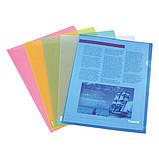 Папка-уголок Axent 1434-22-A, А4, синяя, фото 2