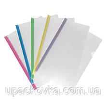 Папка-скоросшиватель Axent 1418-00-A, A4, с планкой