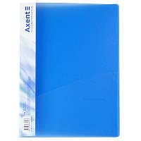 Папка-скоросшиватель Axent 1304-22-A, А4, прозрачная синяя