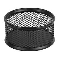 Подставка для скрепок Axent 2113-01-A, 80x80x40 мм, металлическая сетка, черная