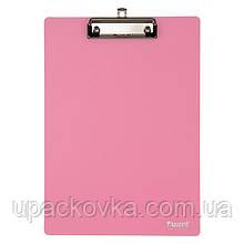 Планшет с прижимом Axent 2515-10-A, А4, розовый