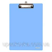 Планшет с прижимом Axent 2515-07-A, А4, голубой