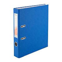 Папка-регистратор Delta D1713-07P односторонняя, PP, 5 см, разобранная, голубая