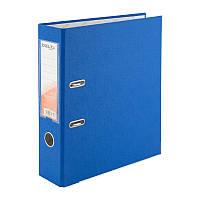 Папка-регистратор Delta D1714-07P односторонняя, PP, 7.5 см, разобранная, голубая