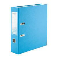 Папка-регистратор Delta D1714-29P односторонняя, PP, 7.5 см, разобранная, светло-голубая