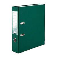 Папка-регистратор Delta D1714-23P односторонняя, PP, 7.5 см, разобранная, темно-зеленая