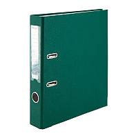 Папка-регистратор Delta D1713-23P односторонняя, PP, 5 см, разобранная, темно-зеленая