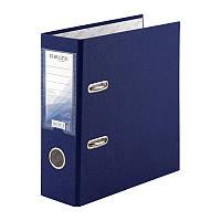 Папка-регистратор Delta D1718-02P односторонняя, А5, PP, 7.5 см, разобранная, синяя