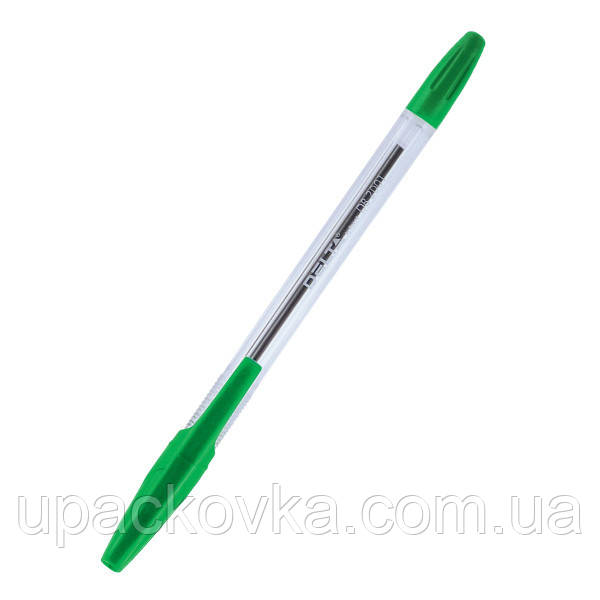 Ручка шариковая Delta DB2001-04, зелёная, 0.7 мм