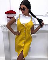 Женский модный сарафан - двойка  ШГ5087, фото 1
