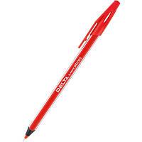 Ручка масляная Delta DB2060-06, красная, 0.7 мм