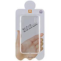 """Чехол на айфон TPU чехол WUW Clear 0,5mm для Apple iPhone XS Max (6.5"""") Бесцветный"""