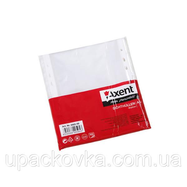 Файл Axent 2005-00-A А5, глянцевый, 40 мкм 100 штук
