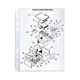 Файл Axent 2005-00-A А5, глянцевый, 40 мкм 100 штук, фото 2