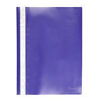 Скоросшиватель Axent 1317-02-A, A4, прозрачная лицевая сторона, синий