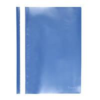 Скоросшиватель Axent 1317-22-A, A4, прозрачная лицевая сторона, голубой