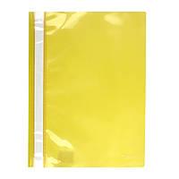 Скоросшиватель Axent 1317-26-A, A4, прозрачная лицевая сторона, желтый
