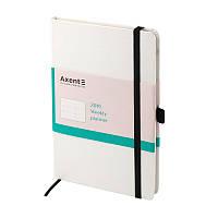 Еженедельник 2019 Axent Strong 8505-21-A, А5-, 96 листов, белый