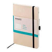 Еженедельник 2019 Axent Flex 8506-35-A, А5-, 96 листов, золотой