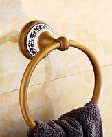 Кольцо для полотенец DECO DB036 бронза, фото 1