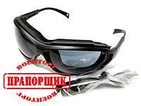 Противоосколочные очки MADLUX темные