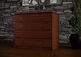 """Комод """"Оптимум"""" для спальні на чотири шухляди ЧДК, фото 7"""